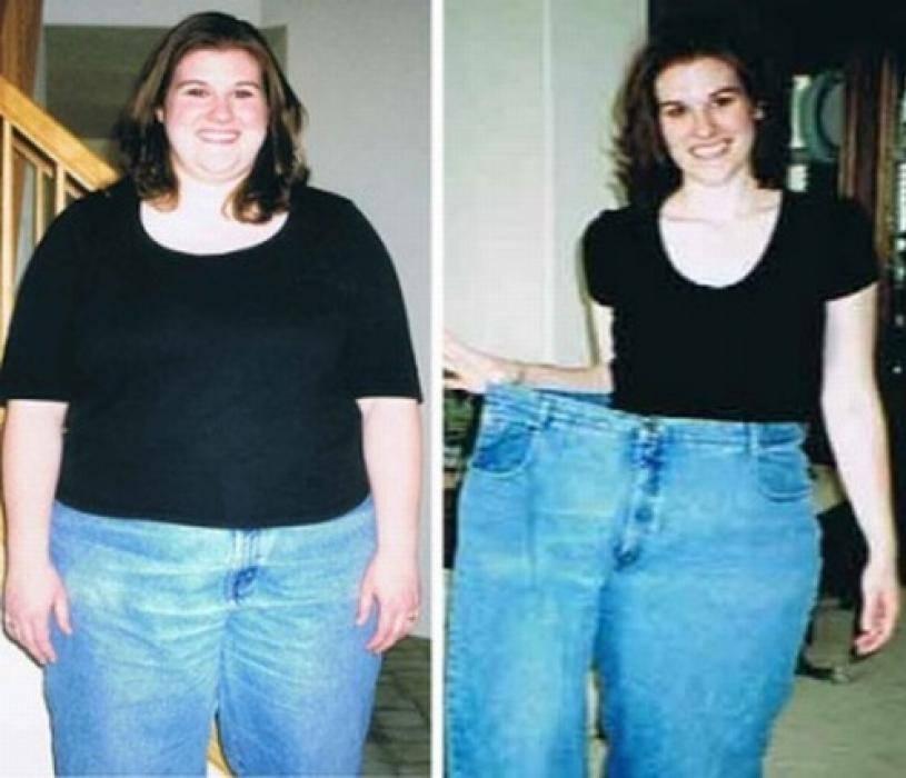 как убрать жир над коленками
